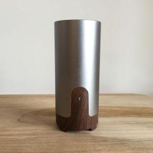 Aroma Diffuser – Metallic / Woodgrain USB
