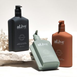 al.ive body Hand & Body Wash – Fig, Apricot and Sage