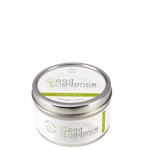 Good Riddance Tropical Candle Tin
