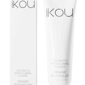 iKOU – Coconut & White Flannel Flower Organic Body Polish