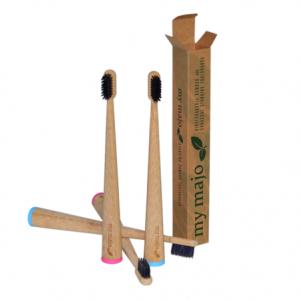 My Majo Toothbrush – Standing Bamboo Charcoal