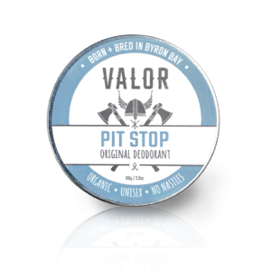 Shave With Valor Deodorant – Pitstop – 2 BLENDS