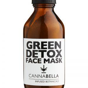 Cannabella Green Detox Face Mask