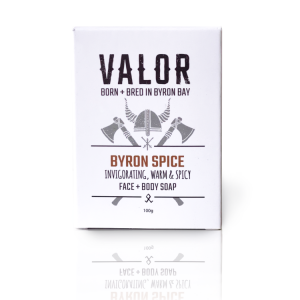 Shave With Valor Soap – Byron Spice