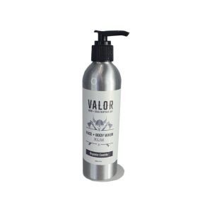 Shave With Valor Face and Body Wash