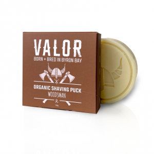 Shave With Valor Shaving Soap Puk
