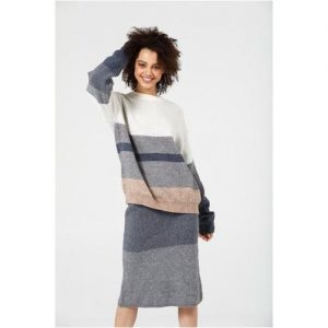 Lost and Found – Knit skirt and jumper set