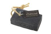 Dindi Naturals Charcoal Soap on a Rope