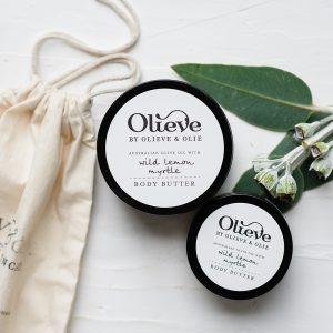 Olieve Body Butter – Wild Lemon Myrtle