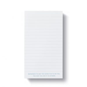 List Pad – You already are your own answer