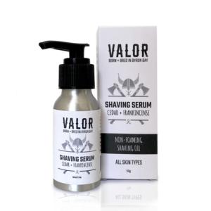 Shave With Valor Organic Shaving Serum