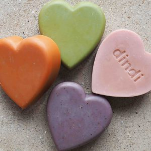 Dindi Naturals Heart Soap (Loose) – 5 Blends