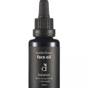 Dindi Naturals Rosella Flower Face Oil – Balance