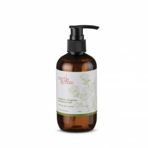 Myrtle & Moss Body Wash – Bergamot Rind, Tangerine & Geranium Leaf