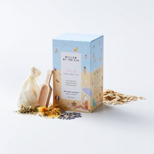 Willow By The Sea Baby Bath Tea – 3 Blends
