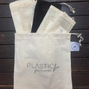 Plastic Free Pantry Produce Bags – Set of 6