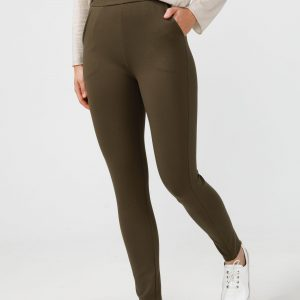 Pilot Pants – Olive and Black