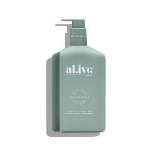 al.ive body  Hand & Body Wash – Kaffir Lime & Green Tea