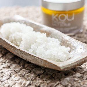 iKOU – Organic Lemon Myrtle Salt Scrub