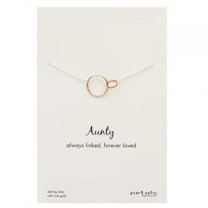 Aunty Necklace – Always Linked, Forever Loved