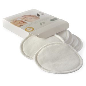 Nature's Child Certified Organic Cotton Breast Pads – 6 pack – Large