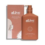 al.ive body Hand & Body Lotion – Fig, Apricot and Sage