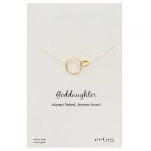 Goddaughter Necklace – Always linked, forever loved