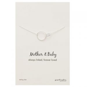 Mother & Baby Necklace – Always linked, forever loved