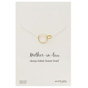 Mother-in-Law Necklace –  Always linked, forever loved