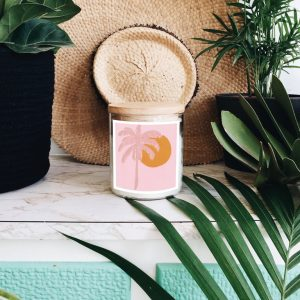 Palm Paradise Candle by Natalie Jade – Tulum Fragrance