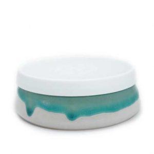 Glacier – Reusable Ceramic Travel Bowl with Lid