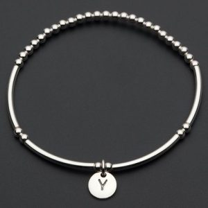Love Letters Y – Silver Bracelet