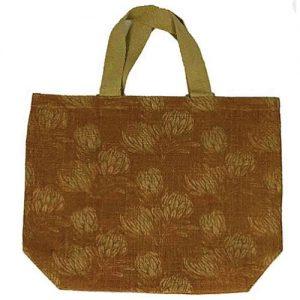 Natural Jute Reusable Grocer Bag – Protea