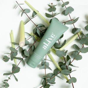 Al.ive Body – Lemongrass & Eucalyptus Clay Body Scrub