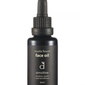 Dindi Naturals Rosella Flower Face Oil – Sensitive