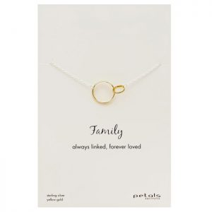 Family Necklace – Always linked, forever loved