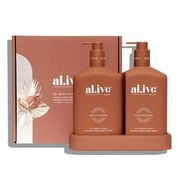 al.ive body Body Wash and Lotion Duo – Fig, Apricot & Sage