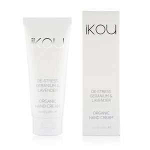 iKOU De-Stress Geranium & Lavender Organic Hand Cream