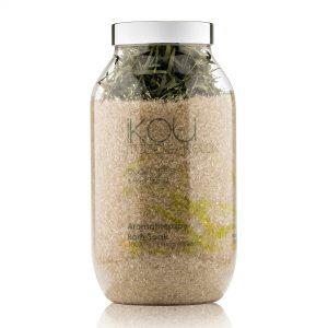 iKOU – Muscle Relax – Aromatherapy Bath Soak – Eucalyptus & Kunzea