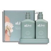 al.ive body Body Wash and Lotion Duo – Kaffir Lime & Green Tea