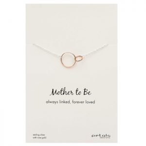 Mother -to-be Necklace – Always linked, forever loved