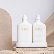 al.ive body Body Wash and Lotion Duo – Mango & Lychee