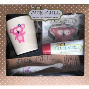 Jack and Jill Toothcare Giftpack – Strawberry Koala