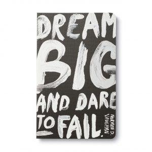 Compendium Write Now Journal – Dream Big and Dare to Fail