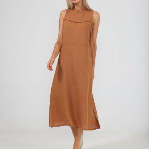Helaina Dress – Tan
