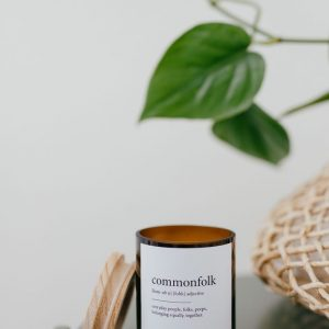 Commonfolk Candle – everyday people, belong together
