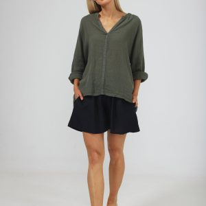 Salerno Top – Thyme