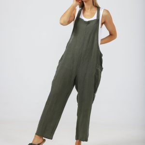 Colmar Overalls – Thyme