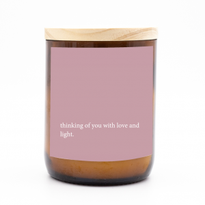 Heartfelt Quote Candle – Thinking of You