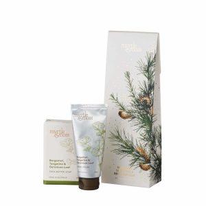 Bergamot, Tangerine & Geranium Leaf Soap & Hand Cream Duet